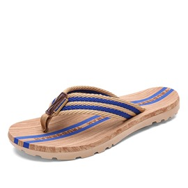 Ericdress Striped Thong Beach Sandals