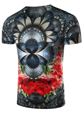 Ericdress 3D Print Casual Men's T-Shirt