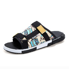 Ericdress Cartoon Printed Slip-On Beach Sandals
