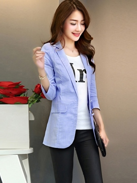 Ericdress Elegant Simple Blazer