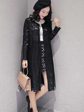 Ericdress Sweet Lace Sun Protective Outerwear