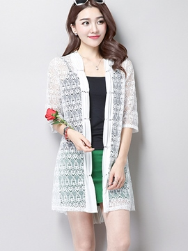 Ericdress Sweet Sun Protective Lace Outerwear