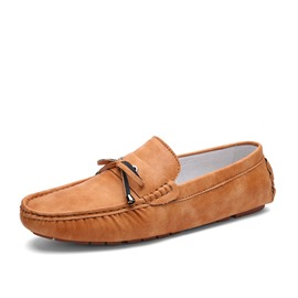 Ericdress Square Toe Low--Cut Bowtie Men's Loafers