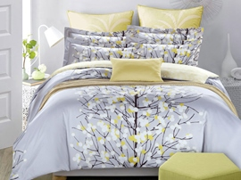 Ericdress Pastoral Cotton Candy Tree Print Bedding Sets