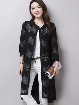 Ericdress Elegant Sun Protective Lace Outerwear
