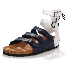 Ericdress Buckle Flat Heel Men's Sandals