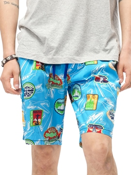 Ericdress Print Loose Casual Men's Shorts
