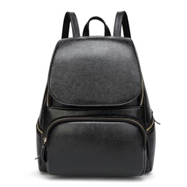 Ericdress Simple Solid Color Backpack