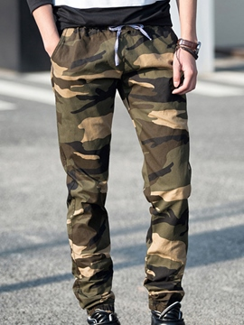 Ericdress Camouflage Casual Men's Pencil Pants