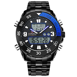 Stainless Steel Strap Sports Watch