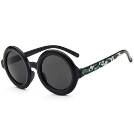 Ericdress All Match Round Reflective Sunglasses