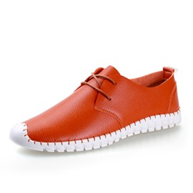 Ericdress Popular Patent Leather Men's Casual Shoes