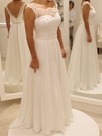 Ericdress Casual A Line Chiffon Beach Wedding Dress