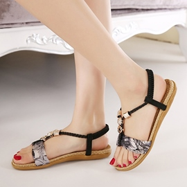 Ericdress Roman Antiskid Thong Beach Sandals