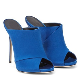 Ericdress Simple Open Toe Mules Shoes