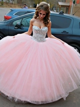 Ericdress Beautiful Sweetheart Ball Gown Color Wedding Dress