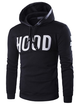 Ericdress Long Sleeve Print Casual Men's Hoodie