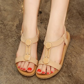 Ericdress Elastic Band Thong Flat Sandals