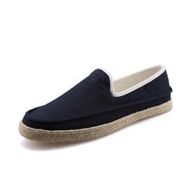 Ericdress Square Toe Low-Cut Slip-On Men's Loafers