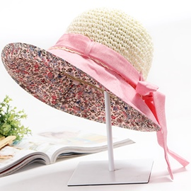 Ericdress Outdoor Bowknot Decorated Sunhat
