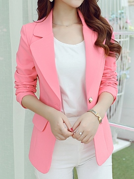 Ericdress Elegant Big Lapel Blazer