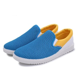 Ericdress Mesh Contrast Color Men's Casual Shoes