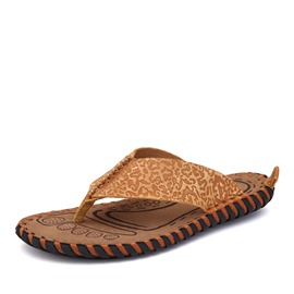 Ericdress Low Heel Thong Men's Beach Sandals