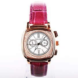 Ericdress Temperament Quicksand Square Watch For Women