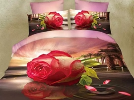 Ericdress Rose Dancing Music 3D Bedding Sets