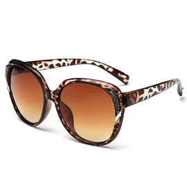 Gradient Big Frame Unti-UV Sunglasses for Women