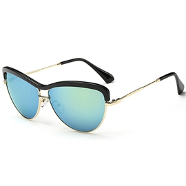 Ericdress Gradient Cat Eye Sunglasses