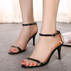 Ericdress Slim Strap Stiletto Sandals