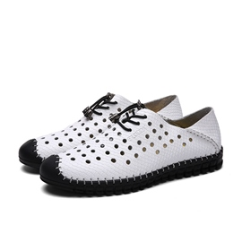 Ericdress Hollow Out Cross Strap Men's Casual Shoes