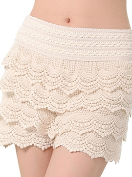 Ericdress Elegant Lace Shorts