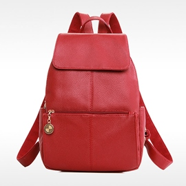 Ericdress Soft Lichee Pattern Backpack