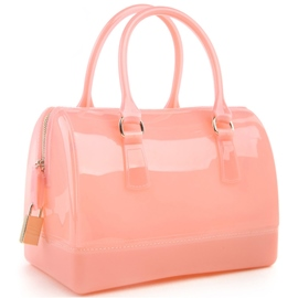 Ericdress Transparent Color Block Handbag