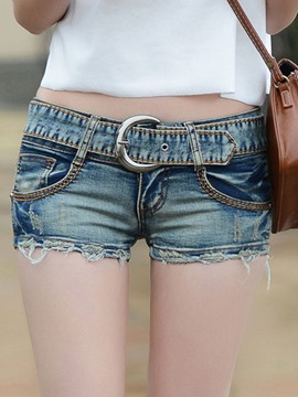 Ericdress Cute Denim Shorts