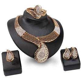 Ericdress Vintage Diamante Jewelry Set