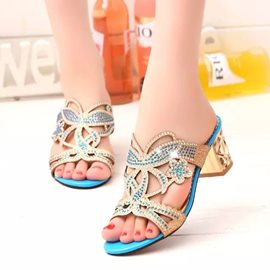 Ericdress Pretty Rhinestone Mules Shoes