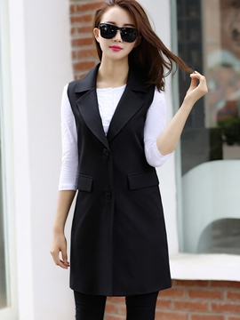 Ericdress Fashion Single-Breasted Blazer