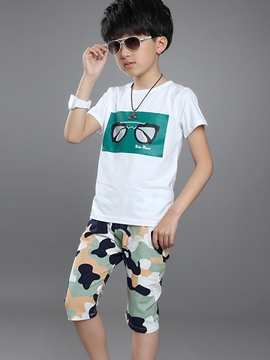 Ericdress Print Boys Outfit