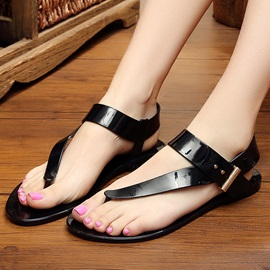 Ericdress Roman Jelly Flat Sandals