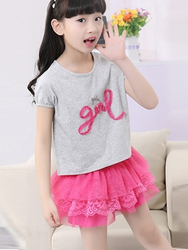 Eicdress Casual Girls Skirt Outfit