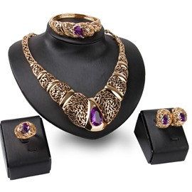 Ericdress Noble Hollow Jewelry Set
