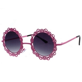 Ericdress Sunflower Design Hollow Lace Sunglasses
