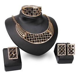 Ericdress Geometric Prom Jewelry Set