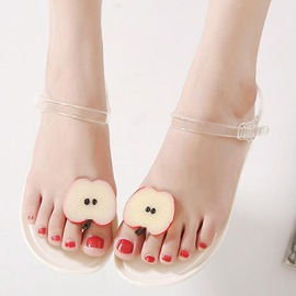 Ericdress Sweet Jelly Flat Sandals