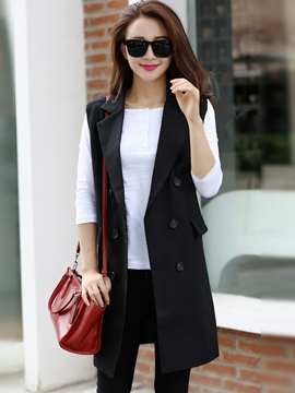 Ericdress Fashion Double-Breasted Blazer