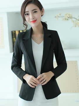 Ericdress Classical Simple Blazer