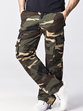 Ericdress Camouflage Casual Loose Men's Pants